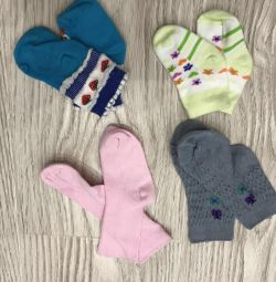 Yeni çorap kız başına 6 adet 0+