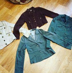 Пиджаки женские , 42 р, пакетом