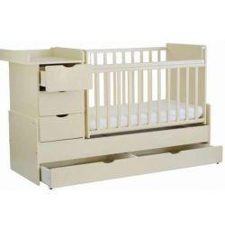 Μεταμορφώνοντας το κρεβάτι Antel Ulyana-6 καμηλοπάρδαλη