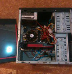 i5 3600mhz 8gb 500gb DVD HD6870 256bit LCD οθόνη
