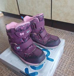 Kapika winter boots glowing