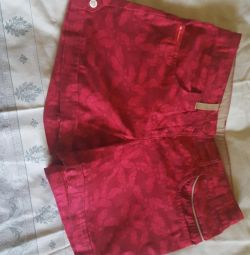 Shorts for girls height 143-150