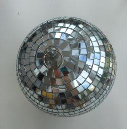 Ayna top çapı 20cm disko topu beyaz