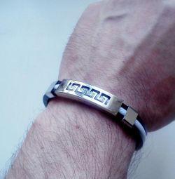 Silicone bracelet (unisex)