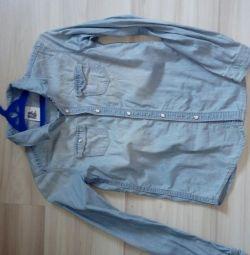 Jeans cămașă