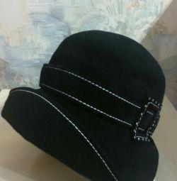 Фетровая шляпа новая