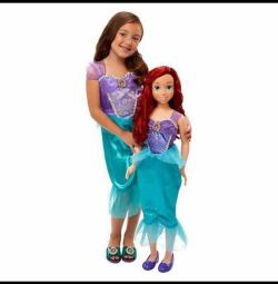 Noua papusa Ariel Disney 99cm