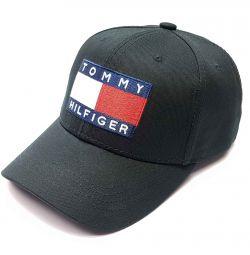 Бейсболка мужская Tommy Hilfiger  (черный) s18