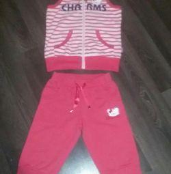 Καλοκαιρινό κοστούμι + μπλουζάκι))