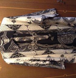 блуза довга