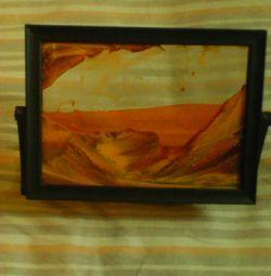 Pictura cu nisip 21x16 cm