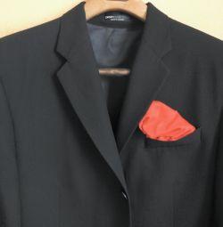 Jacheta Dkny marca Donna Karan SUA negru original