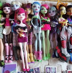 Monster High dolls. Original.