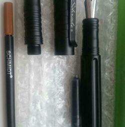 Ручка з алюмінію т6061, з пером і стрижнем