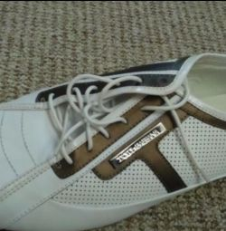 Мужские Макасины, туфли размер 44 полностью кожа