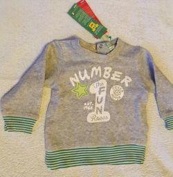 Benetton boy sweater 68 cm new