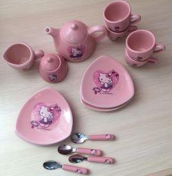 Ware για κούκλες Hello Kitty