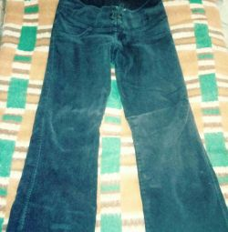 corduroy pants height 150