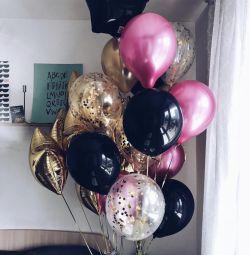 Baloane cu heliu, butovo