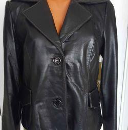 leather jacket 46