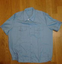 Нова формений, військова блакитна сорочка