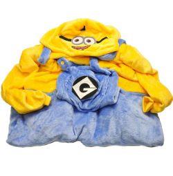 Миньон, кигуруми комбинезон пижама унисекс