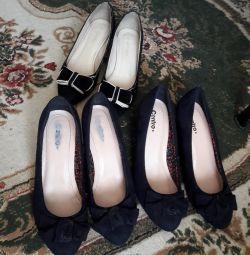 Туфлі 3 пари