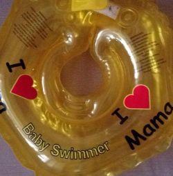 Круг для купания на шею