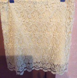 New skirt model 2018, cotton 100%; ZARA, Turkey