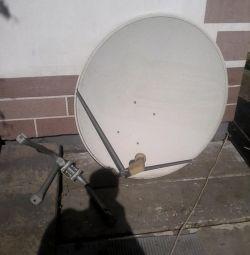 satellite television set