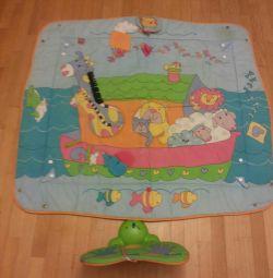 Covorul pentru copii se dezvoltă.