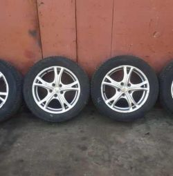 Wheels assembled Ford Focus 3