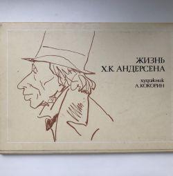 """Life of H.K. Andersen Postcards"