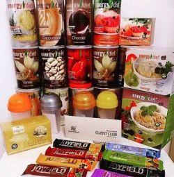 Doğru beslenme EnergyDiet