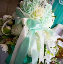 Happy wedding bouquet doubler