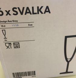 Şarap bardakları
