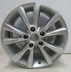 Cast disc 8JH2ET53 Volkswagen Touareg NF R18 oem 7P6601025C (heavy scuffs) (cl-3)