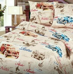 New set of bed linen