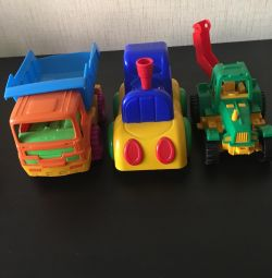Toys, tractor