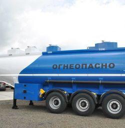 Semi-trailer tank under gum Bonum 28 m3