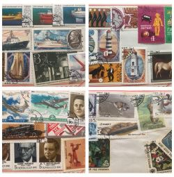 Postage stamps of the USSR, POLAND price for 180 pcs.