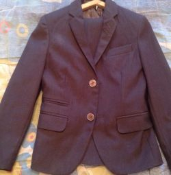 School suit for a boy of 6-8 years.