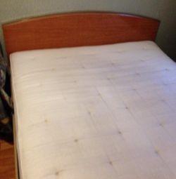 Κρεβάτι + στρώμα