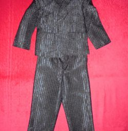 Классические костюм тройка от 98 до 110см.+рубашки