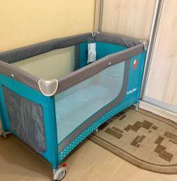 Кровать-манеж прокат