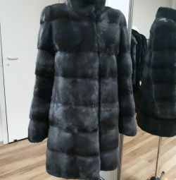 Mink coat. New.