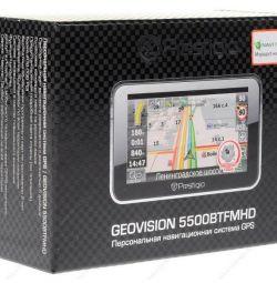 Навигатор GPS prestigio Geo Vision 5500btfmhd
