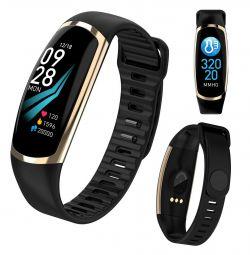 🔥 Smart Watch Health Bracelet R16 Gold New