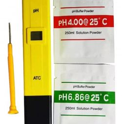 Electronic pH meter, pH meter