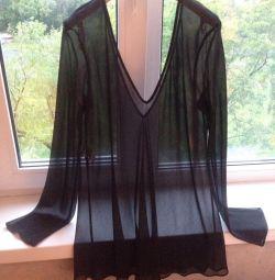Шикарная шелковая блузка Alberta Ferretti Итал
